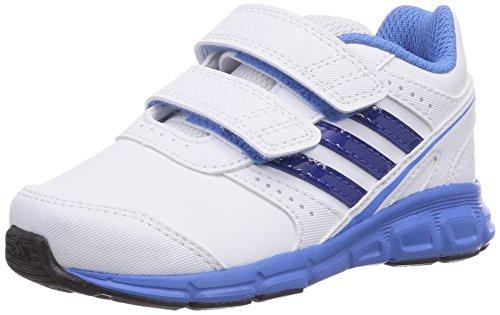 adidas Unisex Baby Hyperfast Lauflernschuhe Weiß (FTWR White/Collegiate Royal/Lucky Blue S15) 23 EU