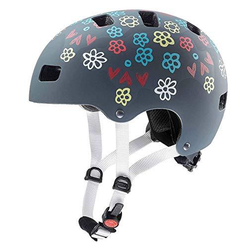 Uvex Kid 3 CC Kinder Dirtbike Skate Fahrrad Helm grau 2019: Größe: 55-58cm