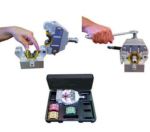 Gowe Tuyau hydraulique a/c pince à sertir Kit de réparation Outils ; AC ; Douchette Flexible d'outils à sertir ; Hose Tuyau d'arrosage Pince à sertir ; Outil à sertir haut quliaty