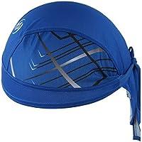 AHATECH Sports Headwear Rapidamente Asciutto Sole Protezione UV Cycling Bandana  Running Beanie Moto Bici Berretto sotto 6c96ac75f29a