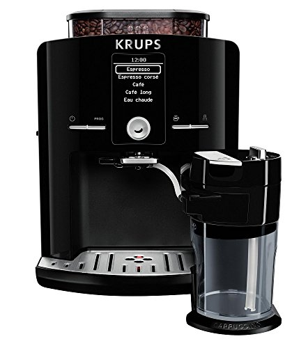 Krups EA8298 Freestanding Bean-to-cup Coffee Machine With HD LCD Screen - Black lowest price