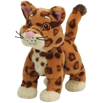 Baby Jaguar from Go Diego Go! -Beanie Baby from TY Dora the explorer by Ty