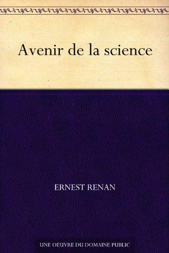 Couverture du livre Avenir de la science