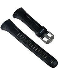 Timex Ironman para banda reloj de pulsera pu banda resistente al agua negro compatible con t5F841