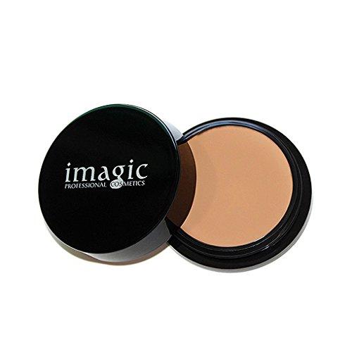 Providethebest IMAGIC Foundation Gesicht Dunkel Kreis Radiergummi Creme Concealer Long Lasting Scars Black Spot Freckles Eye Corrector F01#