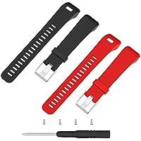 Vivosmart HR+, Ersatz-Armband, Chofit-Weichsilikon-Armband mit Montagewerkzeug für Garmin Vivosmart HR Plus (nicht für Vivosmart HR)