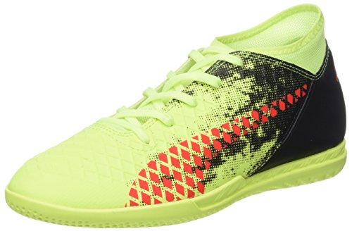 Puma Future 18.4 IT Jr, Zapatillas de Fútbol Unisex Niños, Amarillo (Fizzy Yellow-Red Blast Black), 29 EU