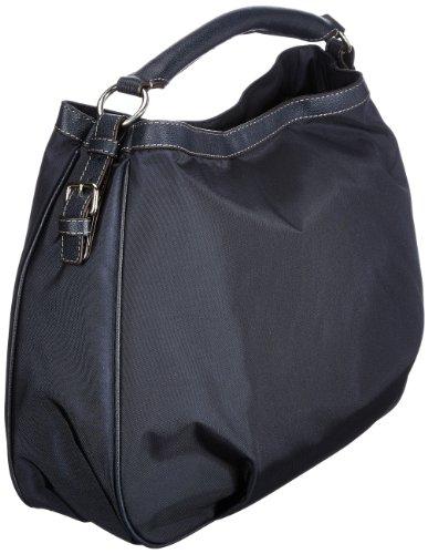 Bogner Leather Elba Belize 0493815, Borsa a spalla donna, 44x32x10 cm (L x A x P) Blu (Blau (navy/navy 226))