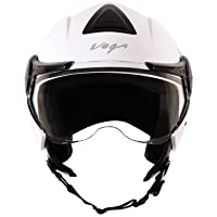 Vega Verve Open Face Helmet (Women's, White, M)