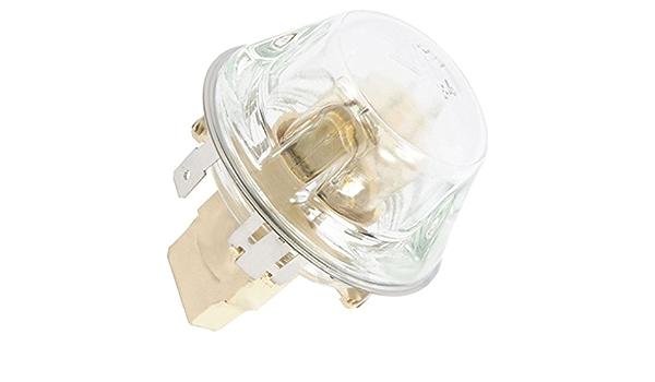 IKEA Four Cuisini/ère Support de lampe complet en verre pour ampoule /&