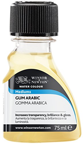 Winsor & Newton - Medium per acquerelli, Gummi Arabikum, 75ml Flasche
