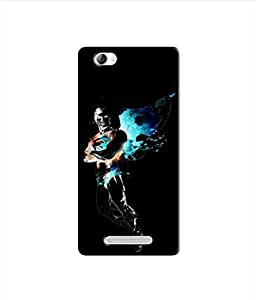 Kaira High Quality Printed Designer Soft Silicon Back Case Cover For Lava X11 (1301)