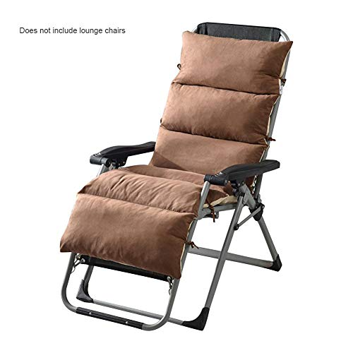 RecoverLOVE Lounge Chaise Cushion Patio Stuhlkissen Abnehmbare rutschfeste Schaukelstuhl einteiliges Sofakissen Falten Indoor Outdoor Tatami Mat Fenster Sitzmatratze -