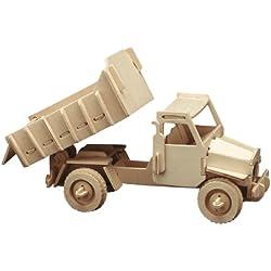 Pebaro 863/3 - Set de manualidades de madera: Motivo - Camión Volquete