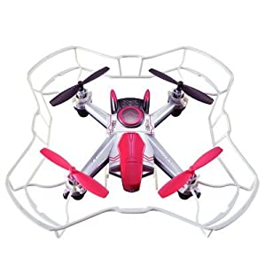 Auldeytoys yw858090Sky Rover Radio Gra peces bestuurbare Voice Command Drone, unisex de Child