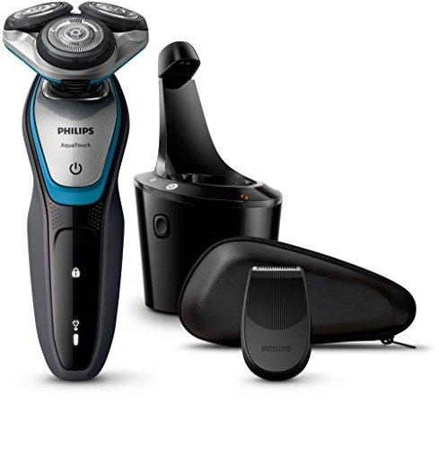 Philips AquaTouch S5400/26Drehzahl Trimmer Blau, Grau Rasierapparat Elektro