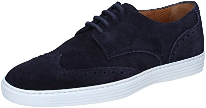 TRIVER FLIGHT - Zapatos de cordones de ante para hombre Azul turquesa