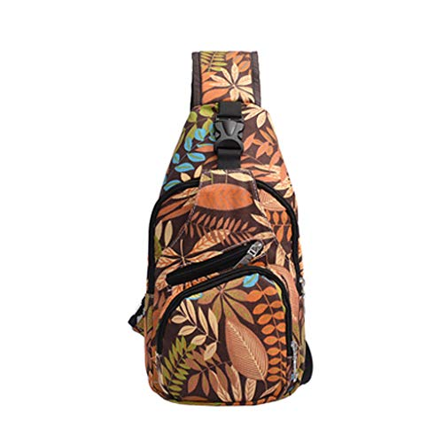 Mitlfuny handbemalte Ledertasche, Schultertasche, Geschenk, Handgefertigte Tasche,Unisex Liebhaber Mode Druck Blume Umhängetasche Umhängetaschen Brusttaschen Canon Prima Mini
