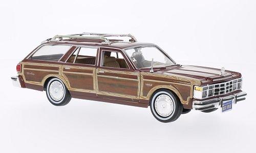 chrysler-le-baron-town-country-braun-holzoptik-1979-modellauto-fertigmodell-motormax-124