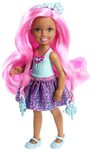 Barbie Endless Hair Kingdom Junior Doll, Blue