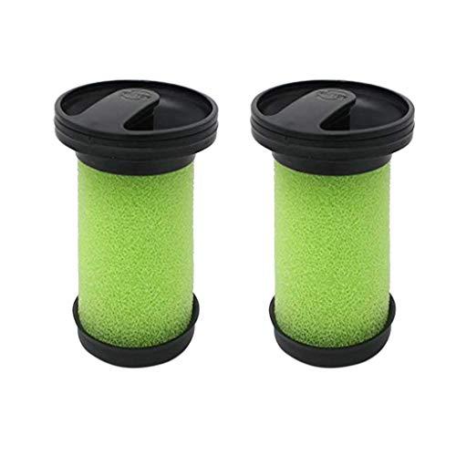 ToDIDAF Staubsauger-Zubehör, Ersatzteile für Kehrroboter, 2 Stück Green Filter für Gtech Multi Handheld ATF036 MK2 Modell Staubsauger