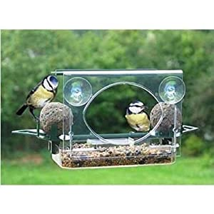 Glass/window Suction Bird Feeder- Roof/fat Ball Holders by OV