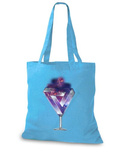 StyloBags Jutebeutel / Tasche The Sky is the Limit Triangle Sky