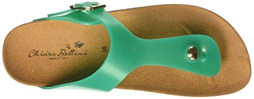 CHIARA BELLINI C41037.0001, Tongs femme Verde (Smeraldo)