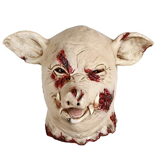 Halloween Horror Pig Head Mask