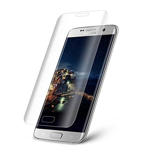 Galaxy S6 Edge NOV@GO® Film en verre trempé incurvé (arrondi sur le bord) pour Samsung Galaxy S6 Edge, protège la totalité de l'écran (version ultra fine 0.2 mm)