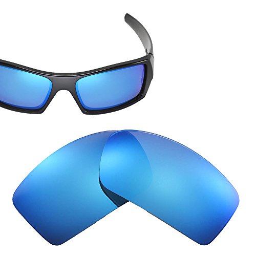 Cofery Ersatzgläser für Oakley Gascan Sonnenbrille - Verschiedene Optionen erhältlich, Unisex, Ice Blue - Polarized, Einheitsgröße