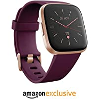 Fitbit Versa 2, Health & Fitness Smartwatch with Voice Control, Sleep Score & Music