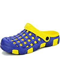 Ventilación en sandalias de verano/Zapatillas y sandalias de playa/Zapatos de los hombres de marea-C Longitud del pie=26.8CM(10.6Inch)