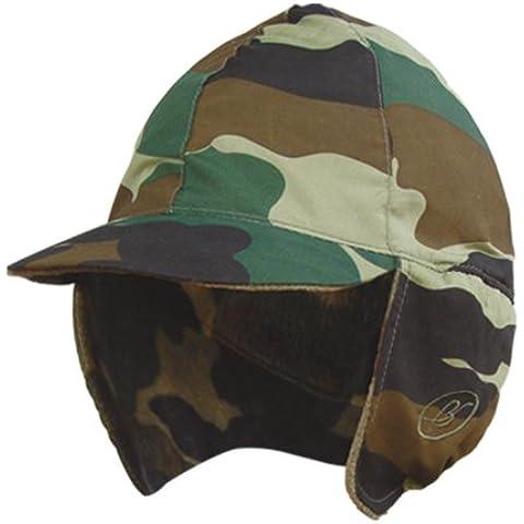Benisport - Gorra orejeras impermeable talla 58, color camuflaje