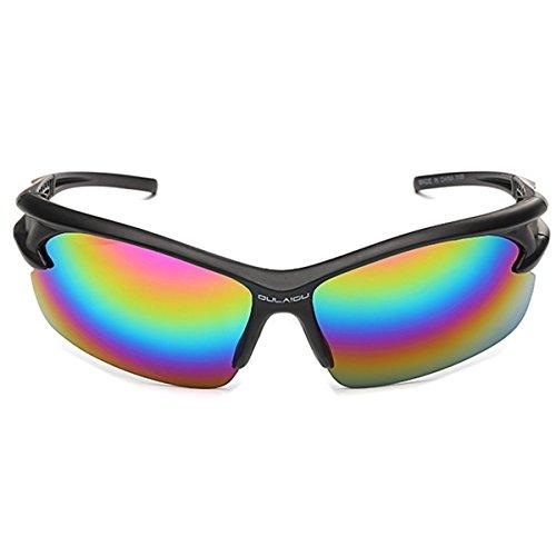 Bawar Sonnenbrille Polarisierte Unisex Retro UV-Schutz Klassisch Sportbrille Vintage Sunglasses für Herren und Damen (Stil 18)