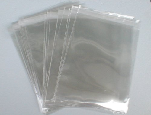 C4 CELLO BAGS - PACK OF 100 - CRYSTAL CLEAR