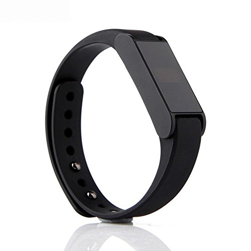 Smart Wristband I6 Heart Rate Monitor Water Proof Smart Bracelet black