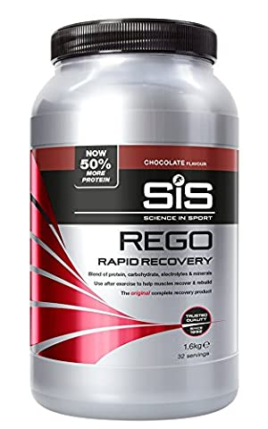 Science in Sport Rego Rapid Recovery Protein Shake, 1.6 kg (32 Servings) - Chocolate