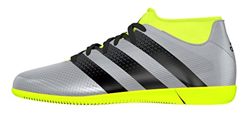 adidas Jungen Ace 16.3 Primemesh in J Fußballschuhe Plateado (Plamet / Negbas / Amasol)