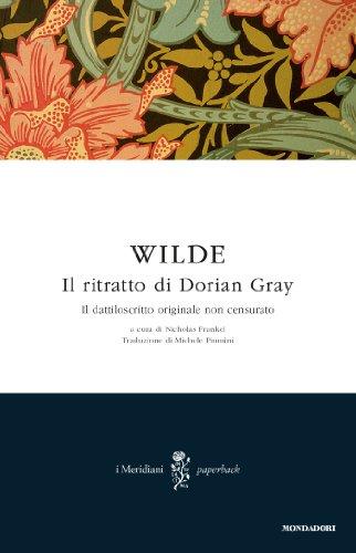Il Ritratto Di Dorian Gray Libro Pdf