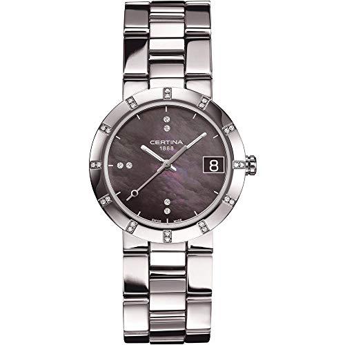 Certina Mesdames 'watch XS Quartz Analogique Acier Inoxydable c009,210,11,126,00