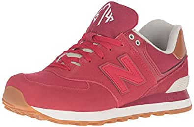 New Balance ML 574 D NEC Crimson Red, Rot, 40 EU / 7 US