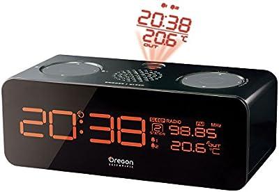 Oregon Scientific RRM-320 - Reloj proyector, radio controlado, con temperatura exterior