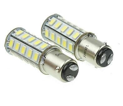 1157 20w 36x5730smd 800-1200lm 6000-6500k luce bianca ha condotto la lampadina per lampada auto del freno (una coppia / ac12-16v)