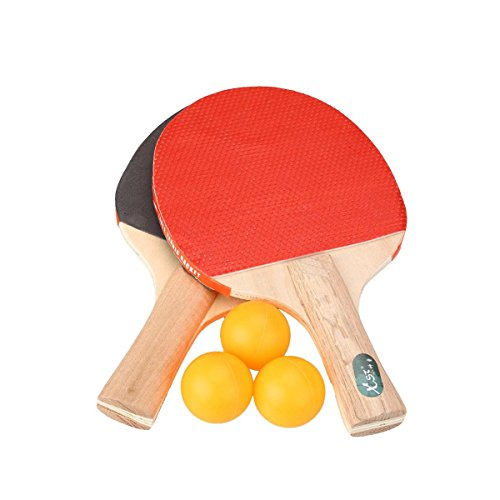 Price comparison product image 5 All In One Table Tennis Set Paddles Bats Balls Games Party 2 Players Ping Pong