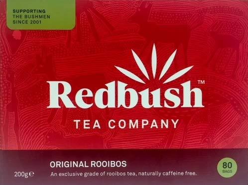 The Redbush Tea Company Original Rooibos Tee 80 Teebeutel (3er Pack, Gesamt 240 Teebeutel)