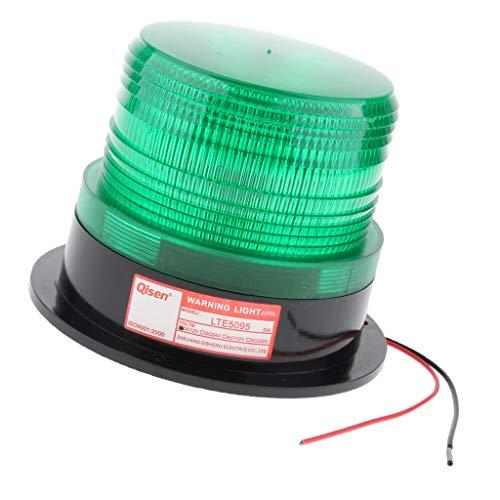 B Blesiya 12V Lumière d'Avertissement de Trafic Balise de Sécurité de Flare de Voiture Disponible en Trois Couleurs - Vert