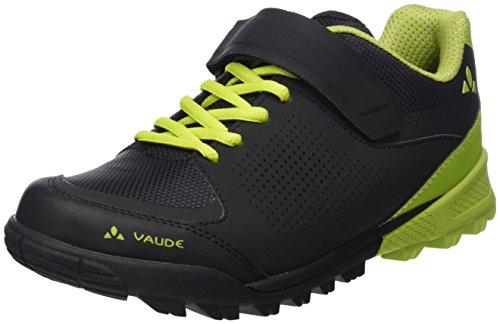 Vaude Unisex-Erwachsene AM Downieville Low Mountainbike Schuhe, Schwarz (Black/Chute 618), 41 EU