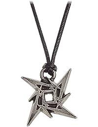 Metallica Necklace Pendant Ninja Star band logo nouveau officiel Alchemy Siver