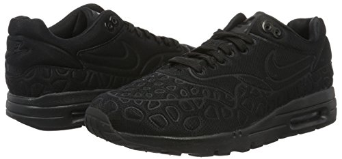 Nike Damen Air Max 1 Ultra Plush Sneakers, Schwarz - 5